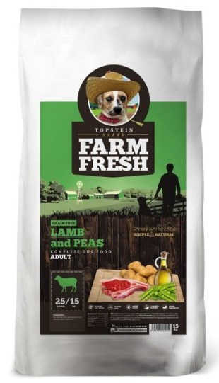 Topstein Farm Fresh Lamb Adult 15kg