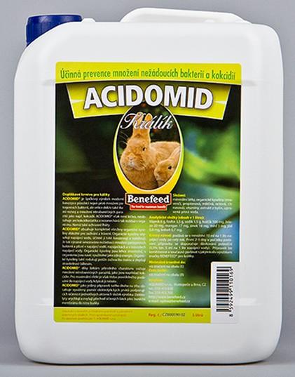 Acidomid K králíci 3 l