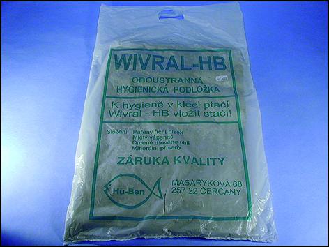 Wivral - oboustranná hygienická podložka do klece 1ks exp. 9/2015