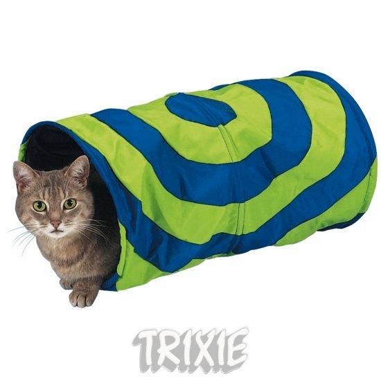 Nylonový tunel pro kočky 25x50cm