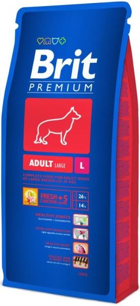 Brit Premium Dog Adult L 15kg krmivo pro psy
