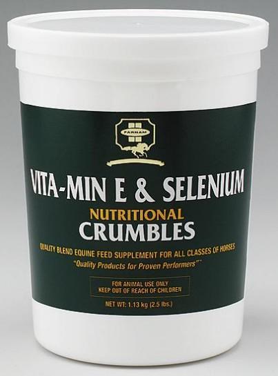 FARNAM Vitamin E + Selenium plv 1,13kg