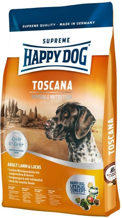 Happy Dog Supreme Sensible Toscana Lamb 12,5kg