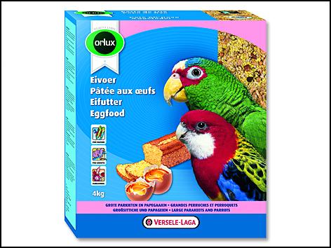 Krmivo Eggfood pro papoušky 800g