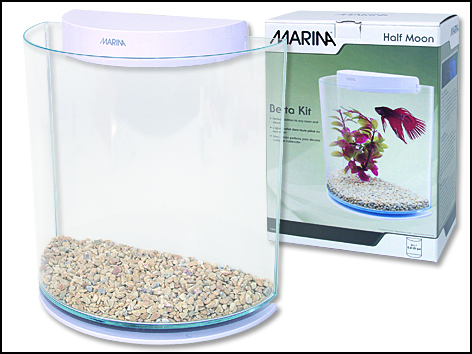 Akvárium Betta Marina Kit HalfMoon 3l