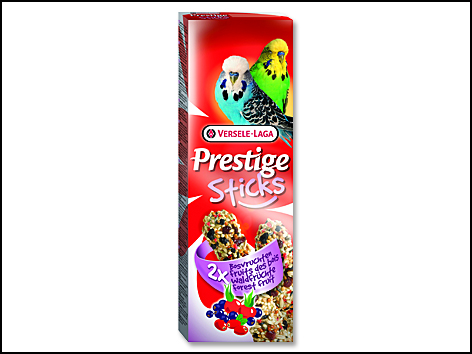 Tyčinky Prestige lesní ovoce pro andulky 60g