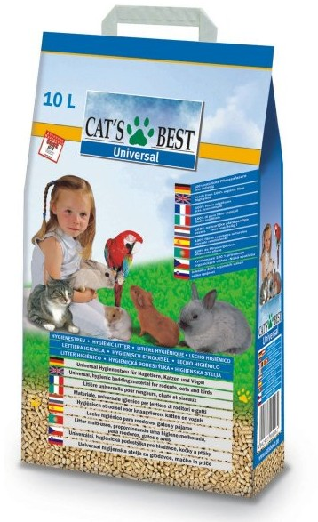 Cat´s Best UNIVERSAL 10 L / 5,5 kg - pelety