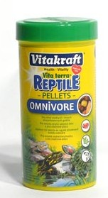 Vitakraft Reptile Turtle pellets Omnivore 250ml