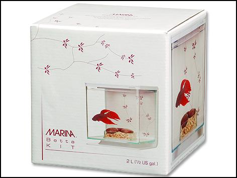 Akvárium Betta Marina Kit Contemporary 2l