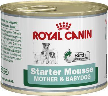 Royal Canin Canine konz. Mini Starter Mousse 195g