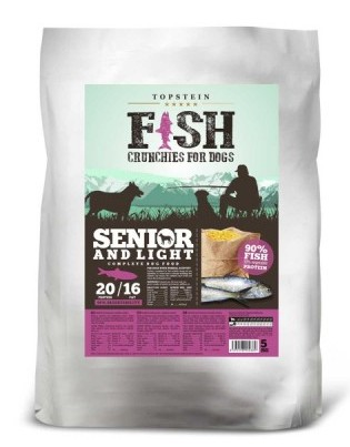 Topstein Fish Crunchies Senior / Light 5kg