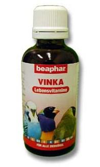 Beaphar vitamíny ptáci kapky Vinka 50ml