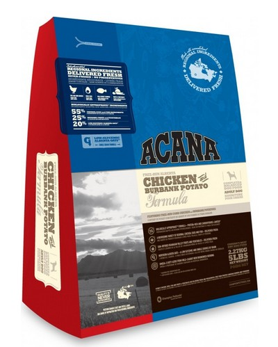 Acana Heritage Dog Chicken&Burbank Potato 17kg