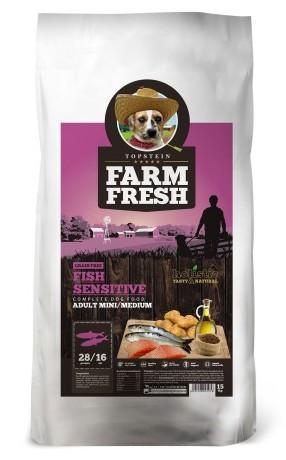 Topstein Farm Fresh Fish Sensitive Mini/Medium 15kg