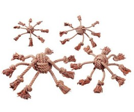 Hračka pro psy Chobotnice bavlna 8,5 x10cm