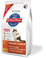 Hill's Feline Dry Adult Hairball Control 1,5kg
