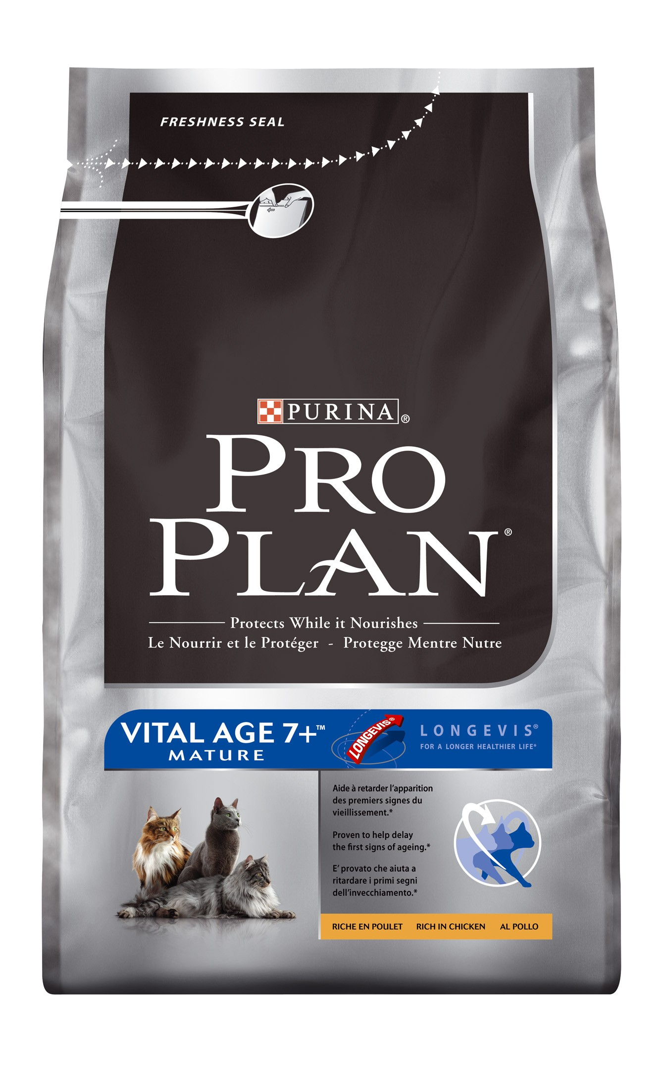 Purina Proplan Cat Vital Age 7+ Chick&Rice 3kg