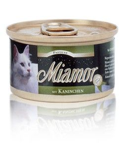Miamor Cat paštika králík 85g