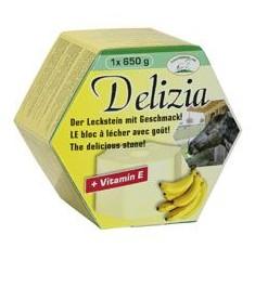 Liz solný pro koně DELIZIA náplň banán