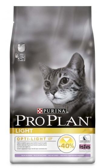 Purina Pro Plan Cat Light Turkey & Rice 3kg