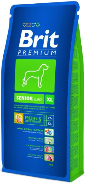 Brit Premium Dog Senior XL 3kg