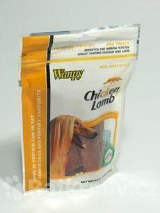 Wanpy Dog pochoutka Jerky Chicken + Lamb Steak 100g