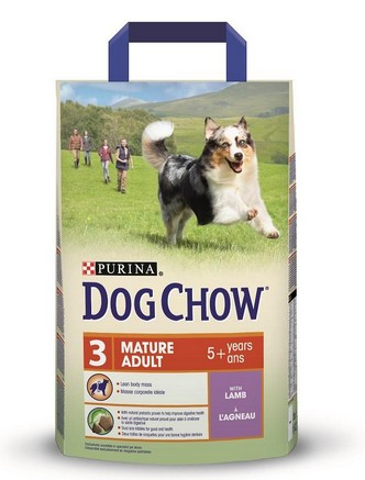 Purina Dog Chow Adult Mature Lamb 2,5kg