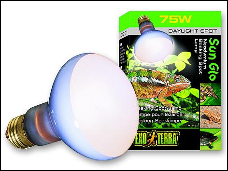 Žárovka EXO TERRA Sun Glo Neodymium 75W