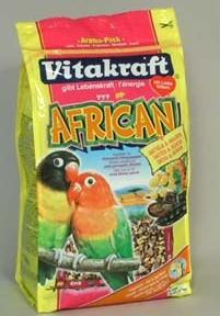 Vitakraft ptactvo Menu african agapornis 750g