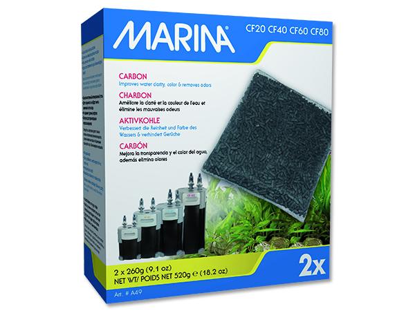 Náplň uhlí aktivní MARINA CF 520g