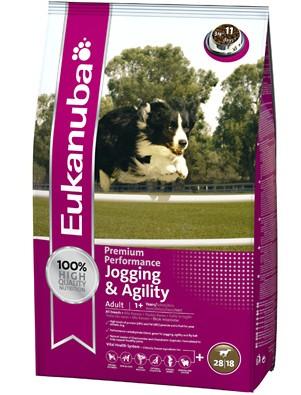 Eukanuba Adult Jogging & Agility (2 krát 15kg) + AKČNÍ CENA