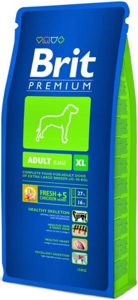Brit Premium Dog Adult XL 15kg krmivo pro psy