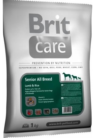 Brit Care Dog Senior Lamb & Rice 1kg