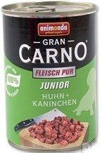 GRANCARNO konzerva JUNIOR - hovězí + kuřecí 400g
