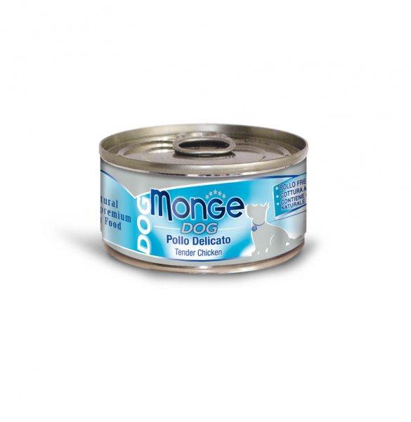 Monge Dog Natural křehké kuřecí maso pro psy 95g