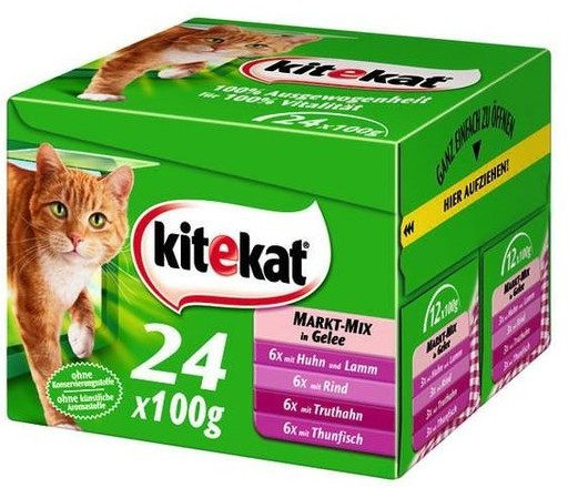 Kitekat kapsa Mix menu 24x100g