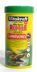 Vitakraft Reptile Turtle pellets Carnivore 250ml