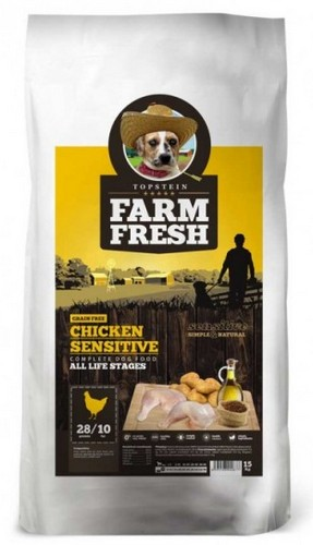 Topstein Farm Fresh Chicken Sensitive 15kg