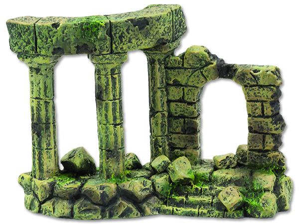Dekorace Zřícenina hradu 13 cm 1ks