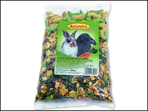 Krmivo pro králíky speciál 500g