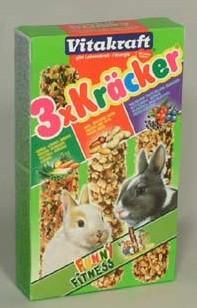 Vitakraft Rodent králíček Kräcker Kombi 3ks