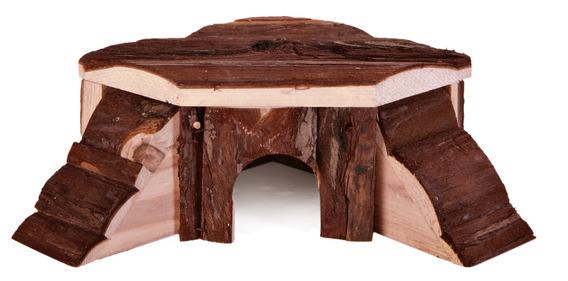 Dřevěný domek THORDIS 35x15x37/37 cm