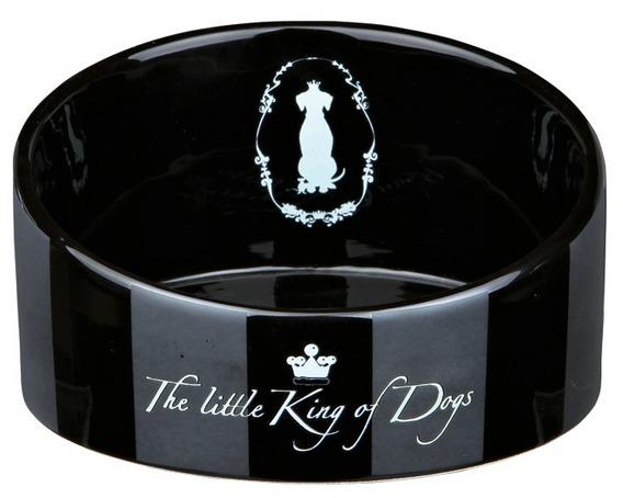 King of Dogs keramická miska zkosená 1 l / 18 cm