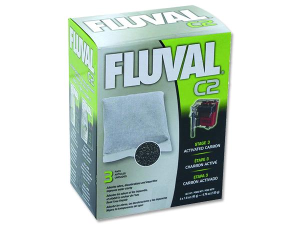 Náplň sáčky aktivní uhlí FLUVAL C2 3ks