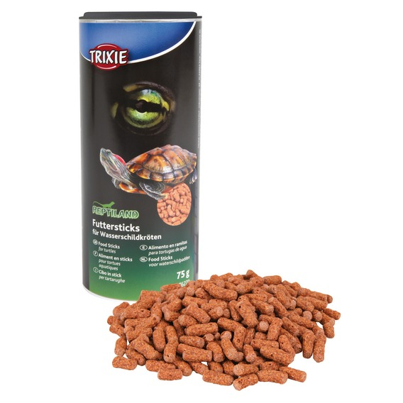 Granulované plovoucí krmivo pro vodní želvy 75 g/250 ml