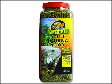 Krmivo ZOO MED Natural Iguana Adult Food 567g