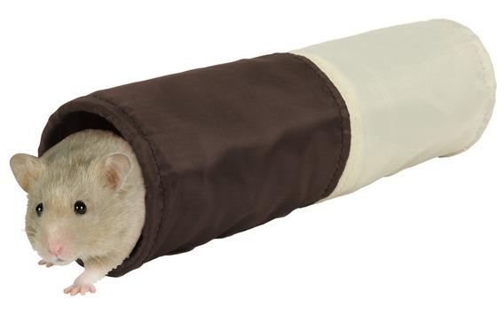 Šustící tunel pro křečka, na položení do klece 6x25 cm