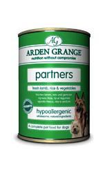 Arden Grange Partners fresh Lamb, Rice & Vegetables 24 x 395g