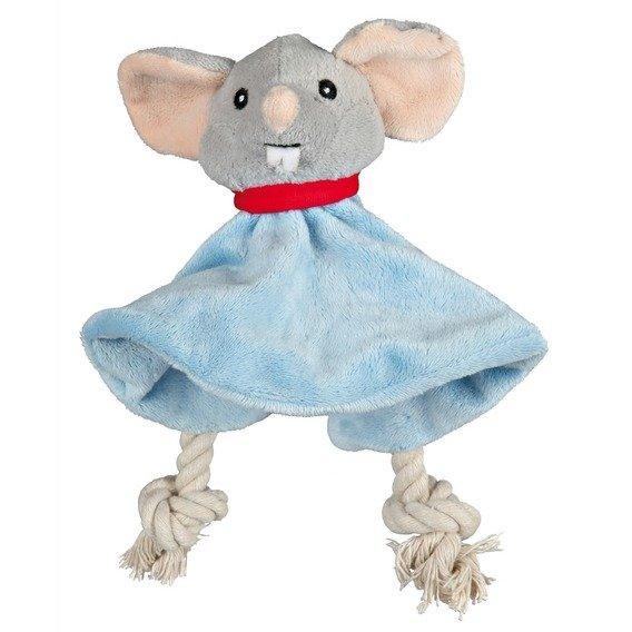 King of Dogs - plyšová myš LEOPOLD s šustícím tělem 18 cm