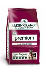 Arden Grange Premium rich in fresh Chicken & Rice 12kg